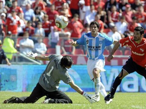 Independiente, gracias a la gran actuación de Hilario Navarro, qu...