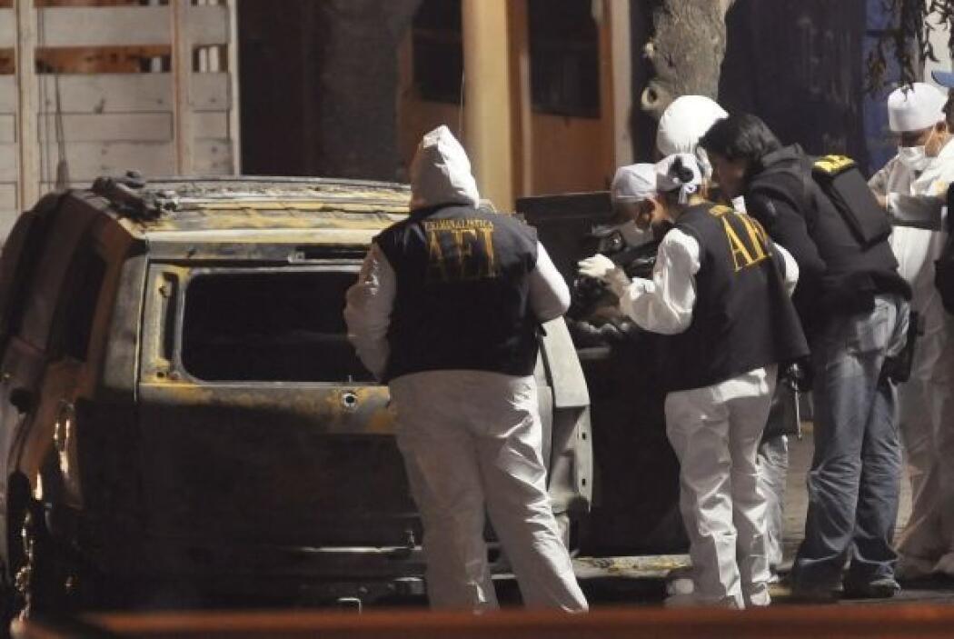 La ciudad fronteriza de Tijuana también vive acechada por la violencia d...