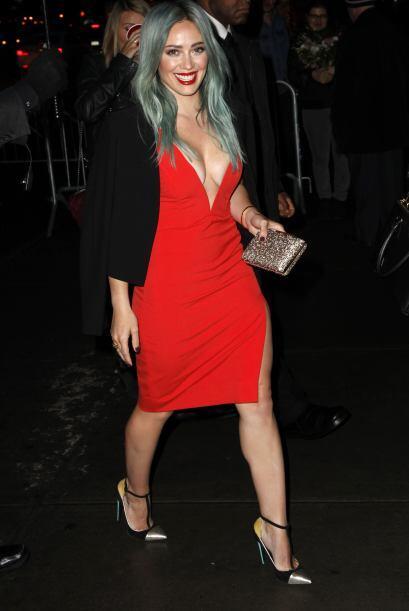 La Duff presumió sus mejores atributos con ese vestidito.