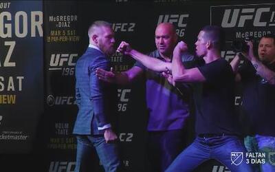 McGregor vs. Diaz: Primer asalto antes de la pelea