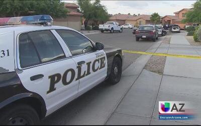 Investigan balacera en Tucson