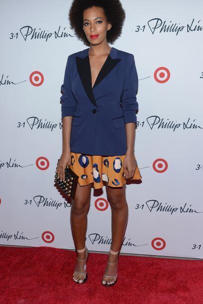 La hermana de Beyoncé, Solange, se veía increíbleme...