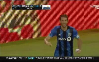 Impresionante contragolpe de Montréal Impact para el gol de Nacho Piatti