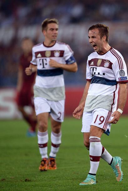 Las mejores imágenes de la tercera fecha de la Liga de Campeones de Europa.