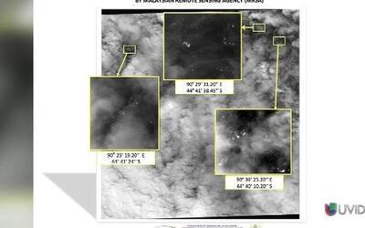 Tu Primer Clic: satélite capta 122 posibles restos del avión malasio