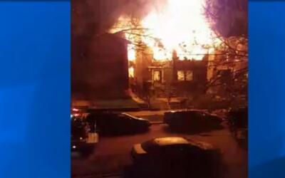 'Chicago en un Minuto': al menos cinco familias resultaron damnificadas...
