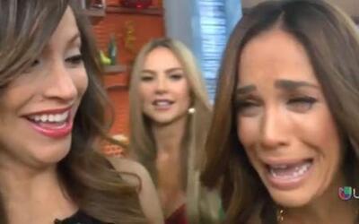 ¿Por qué llora Karla con tanto sentimiento? Entérate detrás de cámaras