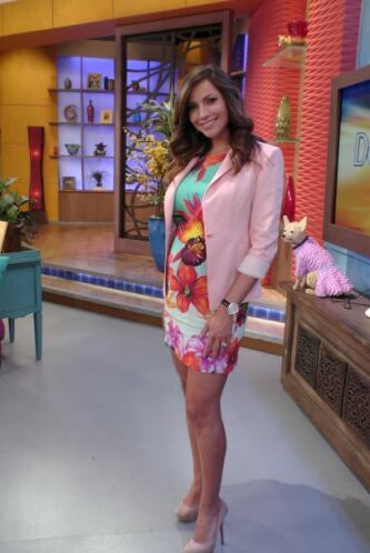 Así luce Satcha Pretto en la semana 29 de su embarazo.