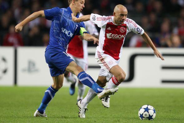 El Ajax de Amsterdam, parte del 'Grupo de la Muerte', recibió al Auxerre...