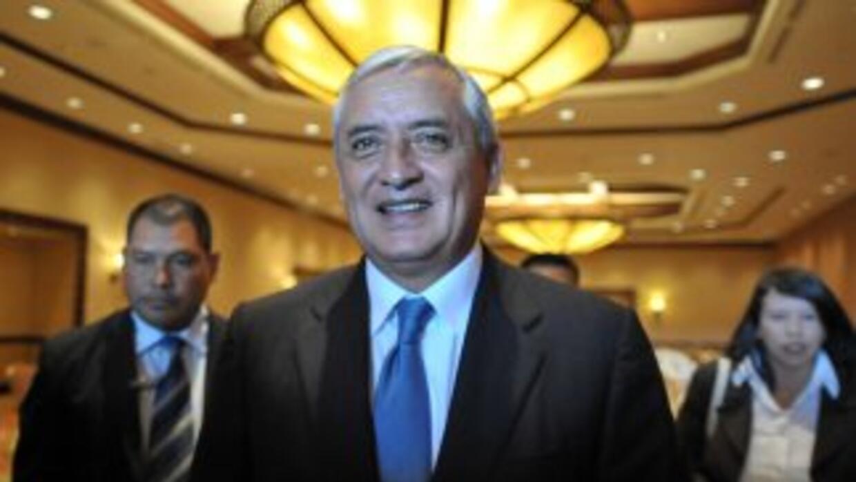 El derechista Otto Pérez se convertirá el sábado en el primer presidente...