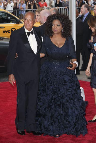 Siempre recordaremos lo bella que lució  Oprah Winfrey  en la Gala del M...