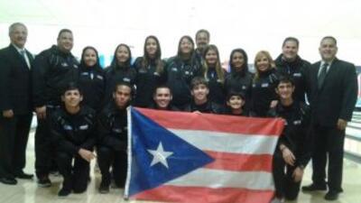 Equipo de Puerto Rico en el Campeonato Panamericano Juvenil de Bolos