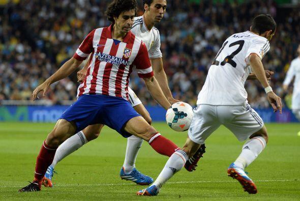El Atletico de Madrid manejó bien el partido y creo varias ocasio...