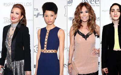 Thalía, Karla, Emily y Lineisy fueron las mejor vestidas de la fiesta de...