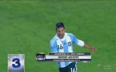 Los Magníficos 10 goles de la Copa América