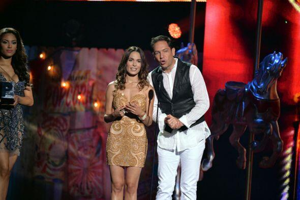 Los actores Nadine Velázquez y Jan fueron los encargados de anunciar al...