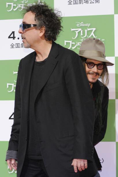No es que Tim Burton sea muy fotogénico en las alfombras rojas, pero cua...