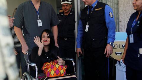 Ximena Suárez, sobreviviente de la tragedia del Chapecoense, sali...