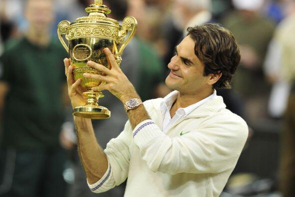 Ahora, Federer cuenta con 17 títulos en los torneos del Grand Sla...