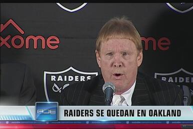 Es oficial: Los Raiders se quedan en Oakland