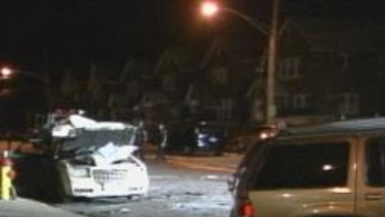 Accidente fatal en el Bronx. Dos personas muertas. Una era hispana. 323e...