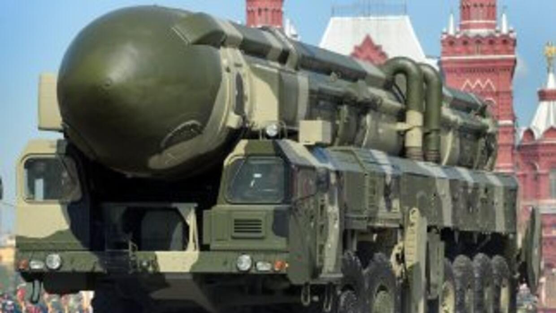 El tratado limita que cada país mantenga 1,550 ojivas estratégicas. Rusi...