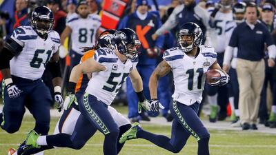 Super Bowl: Percy Harvin inició la segunda mitad con un 'boom'