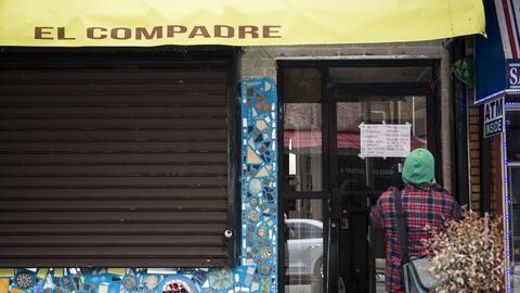 Un restaurante cerrado en Filadelfia, en honor al 'Día sin inmigr...