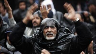 Las movilizaciones populares en Libia siguieron a las ocurridas en Egip...