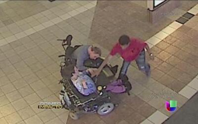 Ladrones roban a pareja de parapléjicos
