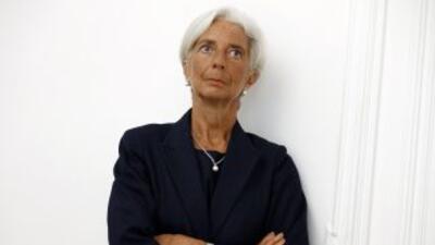 Christine Lagarde afirmó que no piensa dimitir de su cargo pese a que fu...