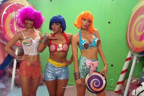 Las chicas hicieron su trabajo de coreógrafas y directoras artísticas pa...
