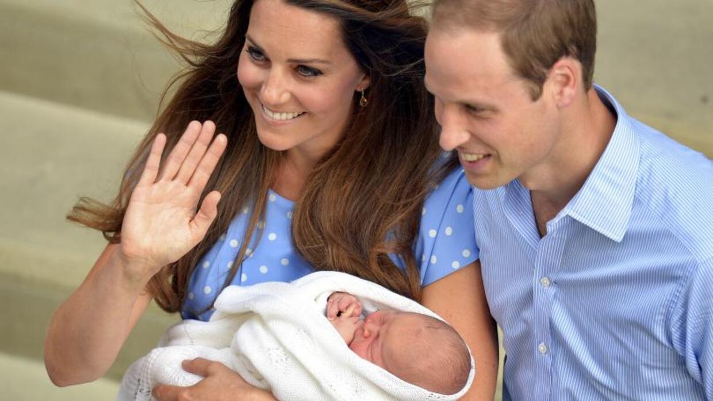 Hello World: el príncipe George es presentado al mundo.