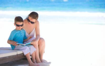 La lectura es fundamental para conseguir que nuestro niño se desenvuelva...