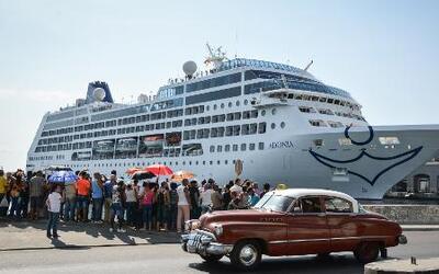 Primer crucero turístico de Estados Unidos logra arribar las costas de Cuba