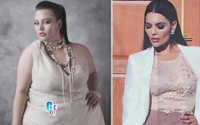 Antes era una mujer de 400 libras y ahora es modelo internacional de tal...