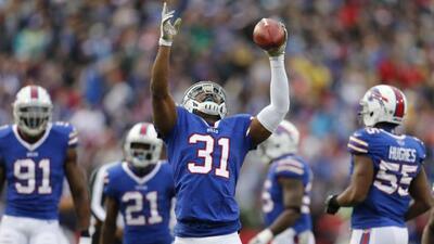 Jairus Byrd firmó con los Saints (AP-NFL).