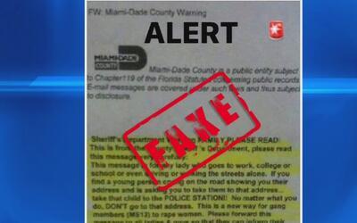 La falsa carta que enciende las alarmas entre las mujeres de Doral por s...