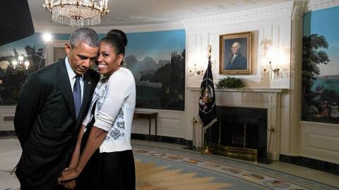 Durante sus años en la Casa Blanca, Michelle y Barack Obama proye...