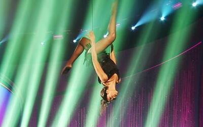 'Bellezas voladoras' en el reto en vivo de Nuestra Belleza Latina