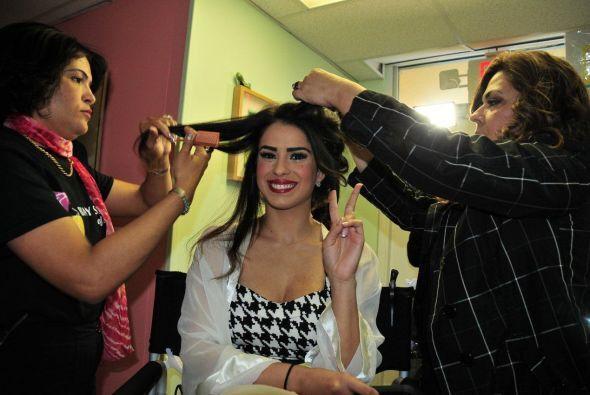 Las reinas de Nuestra Belleza Latina decidieron someterse a una súper tr...