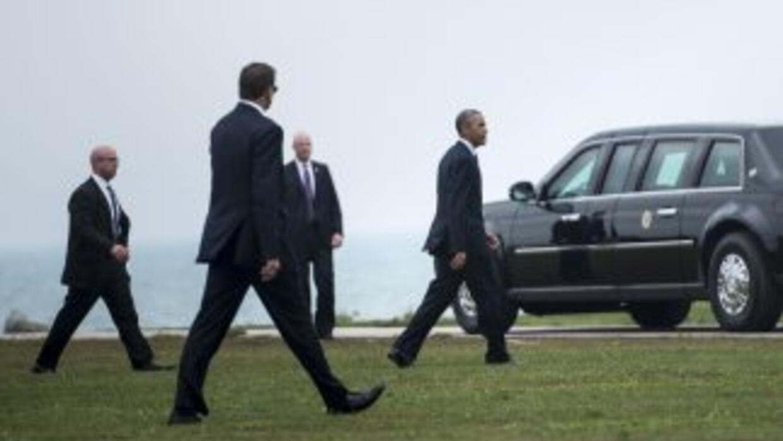 El Servicio Secreto se encarga de la seguridad del presidente y su familia.