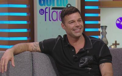 """""""Estoy enamorado"""", dijo Ricky Martin al contarnos cómo le propuso matrim..."""
