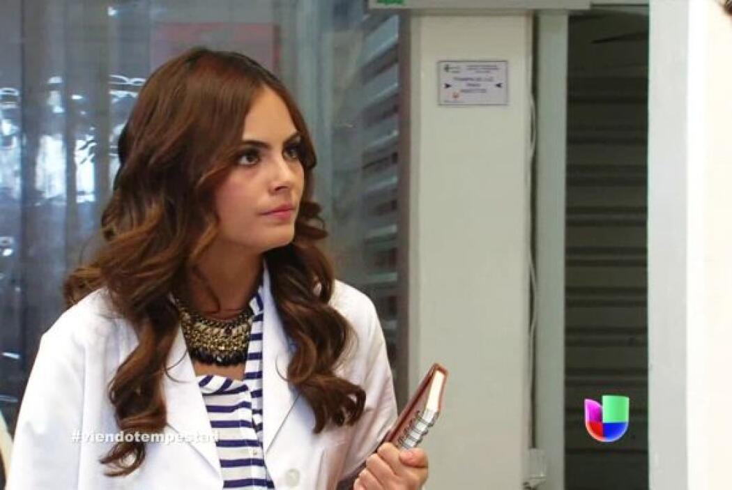 Marina recibió la visita de Hernán.