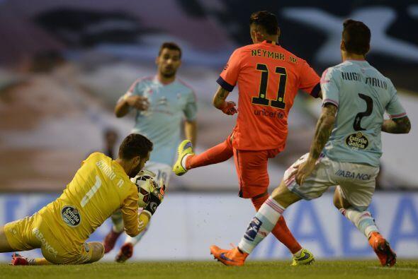 Barcelona sufrió demasiado en su visita al  Estadio Balaídos para enfren...