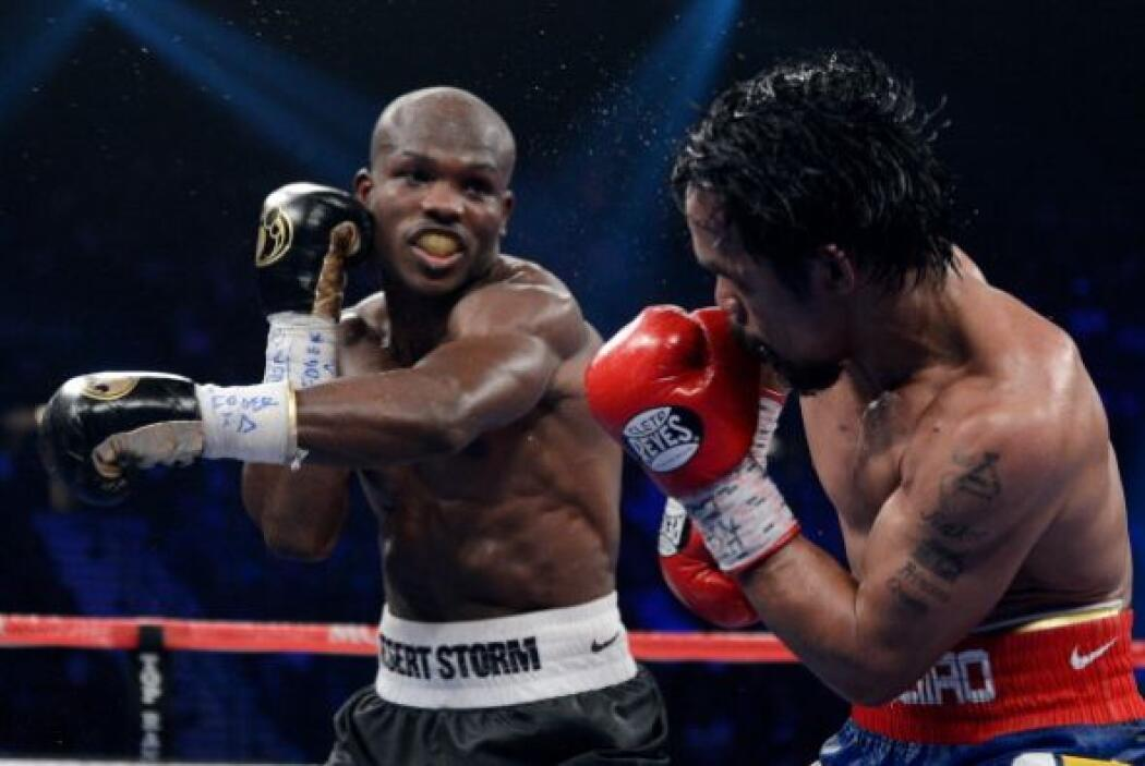 Cuando Manny Pacquiao decidía a atacar la pelea se inclinaba.