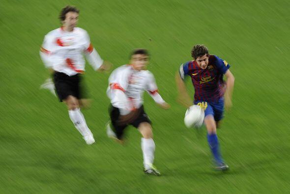Las escapadas de los barcelonistas dieron cuenta del rival y Cristian Te...