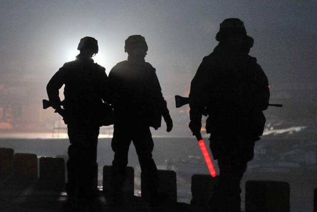 Corea del Sur realizó ejercicios militares con municiones reales en área...