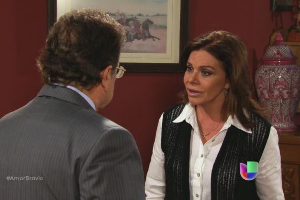 Amanda no permitirá que Natalia arruine su vida al lado de un hombre que...