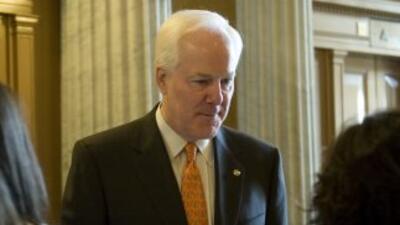 El senador republicano de Texas, John Cornyn.